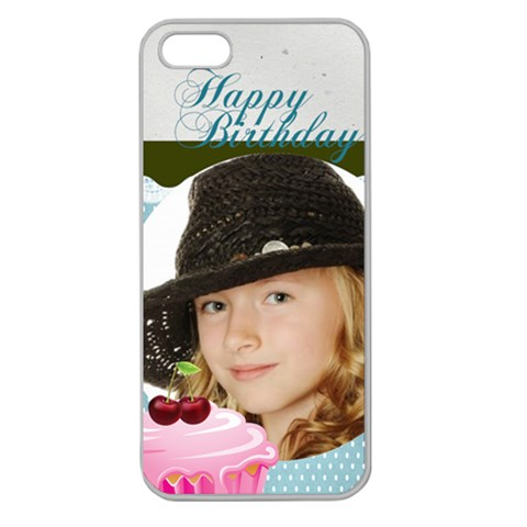 Happy Birthday By Happy Birthday   Apple Seamless Iphone 5 Case (clear)   Wgx30x2wtvyw   Www Artscow Com Front