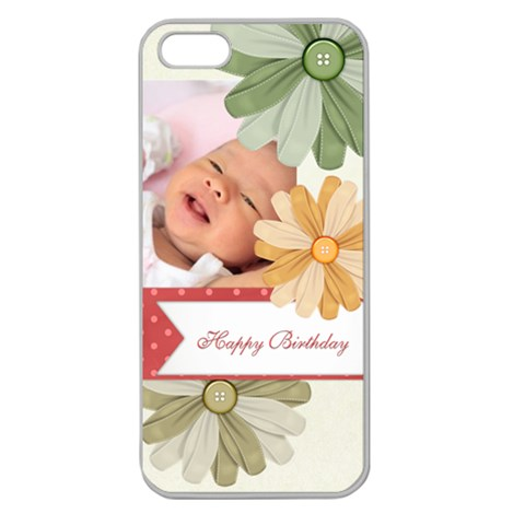 Happy Birthday By Happy Birthday   Apple Seamless Iphone 5 Case (clear)   G1wyqeaz2akm   Www Artscow Com Front