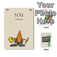 Jack Word Salad, 1/2 By Ian   Playing Cards 54 Designs   Pzll5thzft95   Www Artscow Com Front - HeartJ