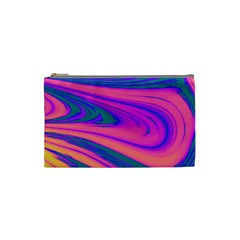 Psychedelic Cosmetic Bag (Small) by MissTerryWoman