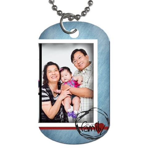 For Grandpa By Daniel   Dog Tag (one Side)   2zeu7z8teid1   Www Artscow Com Front