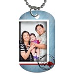 For Grandpa - Dog Tag (One Side)