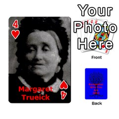 Ancestor Cards W/ Everyone By Darin Kerr   Playing Cards 54 Designs   15zv6fcny6zl   Www Artscow Com Front - Heart4