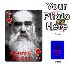 Ancestor Cards W/ Everyone By Darin Kerr   Playing Cards 54 Designs   15zv6fcny6zl   Www Artscow Com Front - Heart7