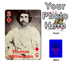 Ancestor Cards W/ Everyone By Darin Kerr   Playing Cards 54 Designs   15zv6fcny6zl   Www Artscow Com Front - Diamond5