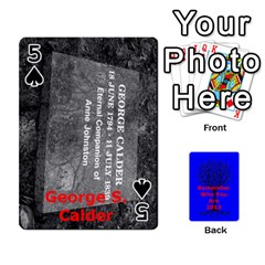 Ancestor Cards W/ Everyone By Darin Kerr   Playing Cards 54 Designs   15zv6fcny6zl   Www Artscow Com Front - Spade5
