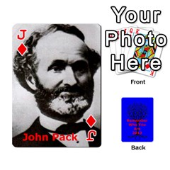 Jack Ancestor Cards W/ Everyone By Darin Kerr   Playing Cards 54 Designs   15zv6fcny6zl   Www Artscow Com Front - DiamondJ