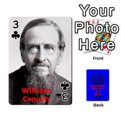 Ancestor Cards W/ Everyone By Darin Kerr   Playing Cards 54 Designs   15zv6fcny6zl   Www Artscow Com Front - Club3