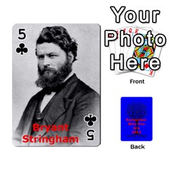 Ancestor Cards W/ Everyone By Darin Kerr   Playing Cards 54 Designs   15zv6fcny6zl   Www Artscow Com Front - Club5