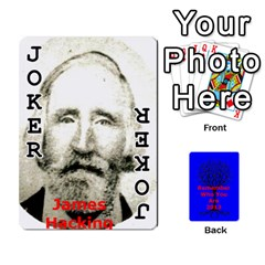 Ancestor Cards W/ Everyone By Darin Kerr   Playing Cards 54 Designs   15zv6fcny6zl   Www Artscow Com Front - Joker1