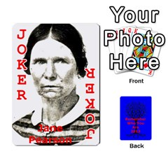 Ancestor Cards W/ Everyone By Darin Kerr   Playing Cards 54 Designs   15zv6fcny6zl   Www Artscow Com Front - Joker2