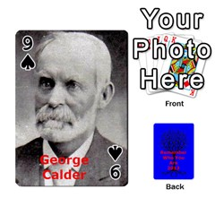 Ancestor Cards W/ Everyone By Darin Kerr   Playing Cards 54 Designs   15zv6fcny6zl   Www Artscow Com Front - Spade9