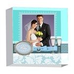 wedding - 5  x 5  Acrylic Photo Block