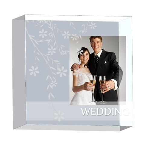Wedding By Paula Green   5  X 5  Acrylic Photo Block   8uujcxh47ziq   Www Artscow Com Front