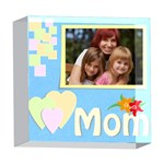 mom - 5  x 5  Acrylic Photo Block