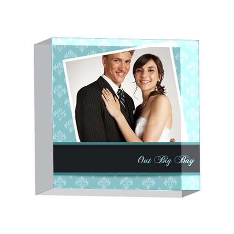 Wedding By Paula Green   4 x 4  Acrylic Photo Block   Jtrzrxxtvw3m   Www Artscow Com Front