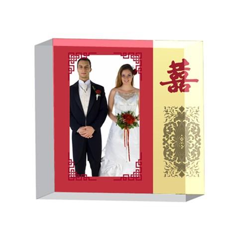 Wedding By Jo Jo   4 x 4  Acrylic Photo Block   Sk7y2k11idsn   Www Artscow Com Front