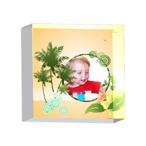 Kids By Wood Johnson   4 x 4  Acrylic Photo Block   Mufl9ya0kp0g   Www Artscow Com Front