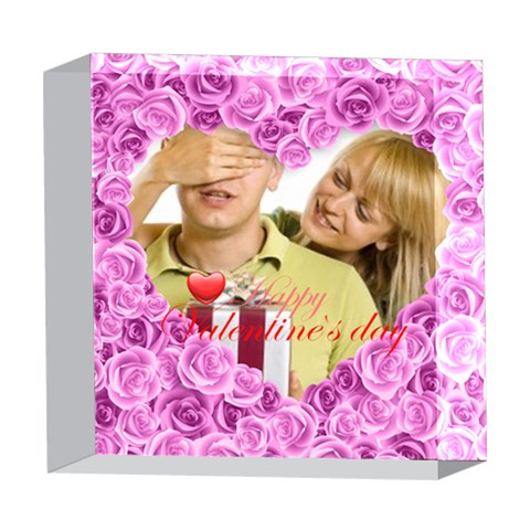 Love By May   5  X 5  Acrylic Photo Block   X395ghc1vrgj   Www Artscow Com Front