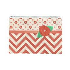Large Makeup Bag By Emily Front