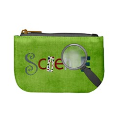 Learn Discover Explore Mini Coin Bag 1 By Lisa Minor   Mini Coin Purse   93e85hp72xer   Www Artscow Com Front