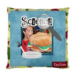 Learn Discover Explore Cushion 2 - Cushion Case (One Side)