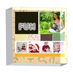 fun - 5  x 5  Acrylic Photo Block