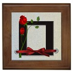 With Love for You framed tile