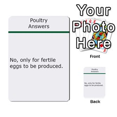 Poultry Question Cards By Lmw   Multi Purpose Cards (rectangle)   4zo8denyjrd7   Www Artscow Com Back 2