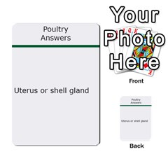 Poultry Question Cards By Lmw   Multi Purpose Cards (rectangle)   4zo8denyjrd7   Www Artscow Com Back 3