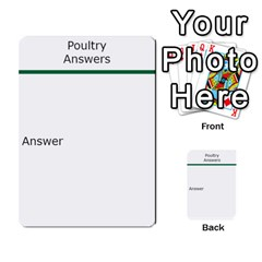 Poultry Question Cards By Lmw   Multi Purpose Cards (rectangle)   4zo8denyjrd7   Www Artscow Com Frontback