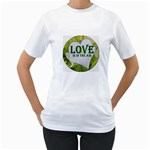 Love Is In The Air Women s T-Shirt