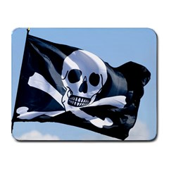 Pirate Flag Small Mousepad by Destiny