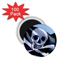 Pirate Flag 1.75  Magnet (100 pack)  by Destiny