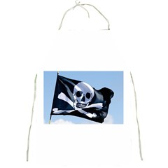 Pirate Flag Full Print Apron by Destiny