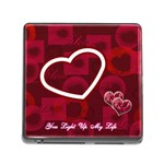 You Light up my life memory card reader - Memory Card Reader with Storage (Square)