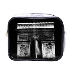 Vintage France Paris Triumphal Arch 1970 Single Sided Cosmetic Case by Vintagephotos
