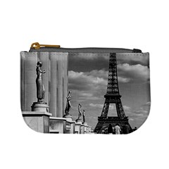 Vintage France Paris Eiffel Tour Chaillot Palace 1970 Coin Change Purse by Vintagephotos