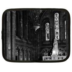 Vintage France Paris Sacre Coeur Basilica Virgin Chapel 13  Netbook Case by Vintagephotos