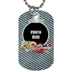 Learn Discover Explore Dog Tag 1 - Dog Tag (One Side)