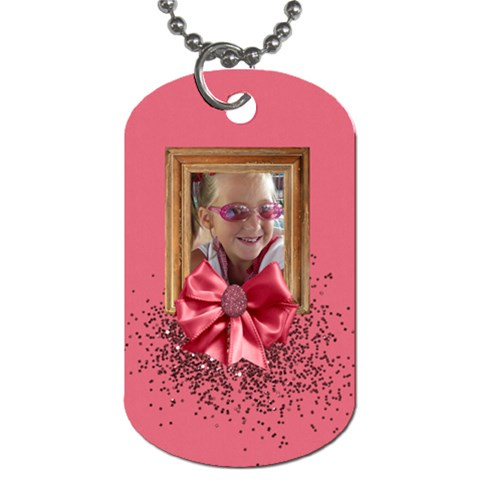 Time For Spring Dog Tag 1 By Lisa Minor   Dog Tag (one Side)   Ah9asb62b8uy   Www Artscow Com Front