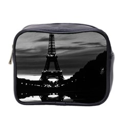 Vintage France Paris Eiffel Tower Reflection 1970 Twin Sided Cosmetic Case by Vintagephotos