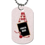 Sweetie Alphabet Tag 2 - Dog Tag (One Side)