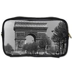 Vintage France Paris Triumphal Arch 1970 Single Sided Personal Care Bag