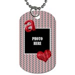 Sweetie Alphabet Dog Tag 3 - Dog Tag (One Side)