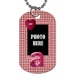 Sweetie Alphabet Dog Tag 4 - Dog Tag (One Side)
