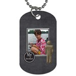 Brothers Dog Tag 1 - Dog Tag (One Side)