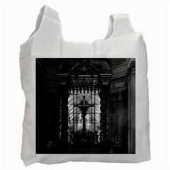 Vintage France Paris Royal Chapel Altar St James Palace Single Sided Reusable Shopping Bag
