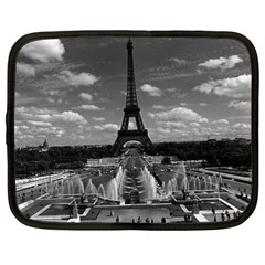 Vintage France Paris Fontain Chaillot Tour Eiffel 1970 13  Netbook Case
