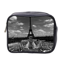 Vintage France Paris Fontain Chaillot Tour Eiffel 1970 Twin Sided Cosmetic Case by Vintagephotos